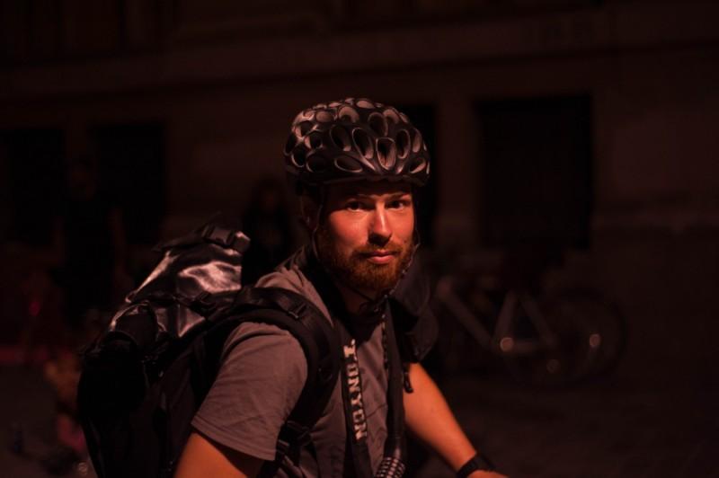 Championnats du monde des coursiers à vélo, Paris, août 2016