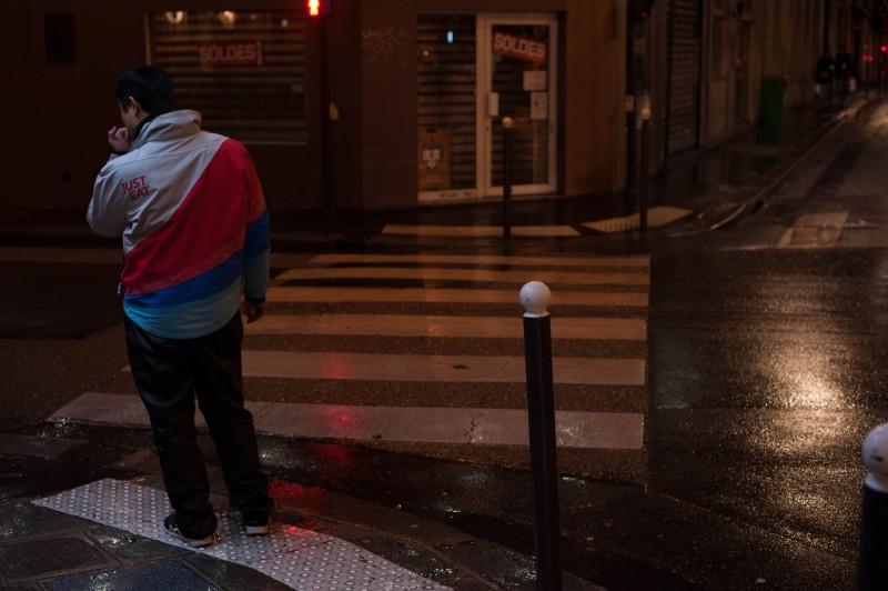 Paris, neuvième arrondissement, mars 2018
