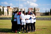 L'équipe entraînée par Amira Fekih, première femme arbitre de rugby en Tunisie