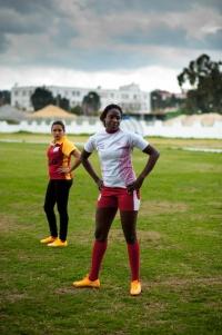 Sur la pelouse du centre d'entraînement de Tunis