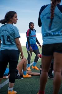 Fadwah Najeh sous les couleurs de son club d'origine