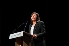 Anne Hidalgo en meeting