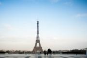 Trocadéro, premier jour de confinement
