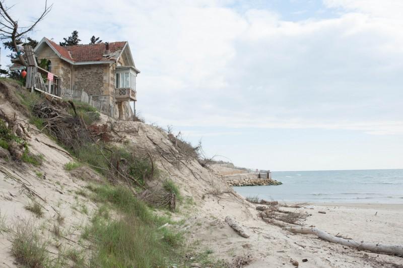 Une villa typique du style arcachonnais évacuée à l'Amélie-sur-mer
